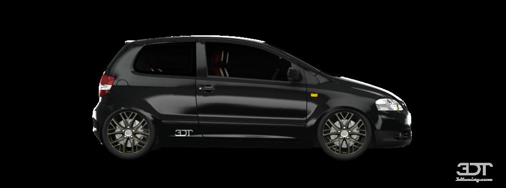 volkswagen fox 3 door hatchback 2011 tuning. Black Bedroom Furniture Sets. Home Design Ideas