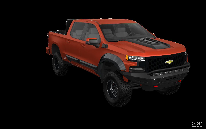 Chevrolet Silverado 1500 4 Door pickup truck 2019 tuning