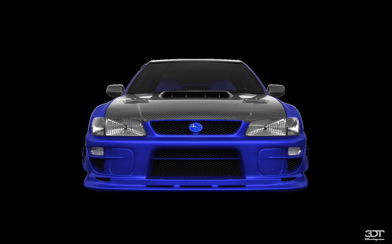 Subaru Impreza WRX STI 22B 2 Door Coupe 2000