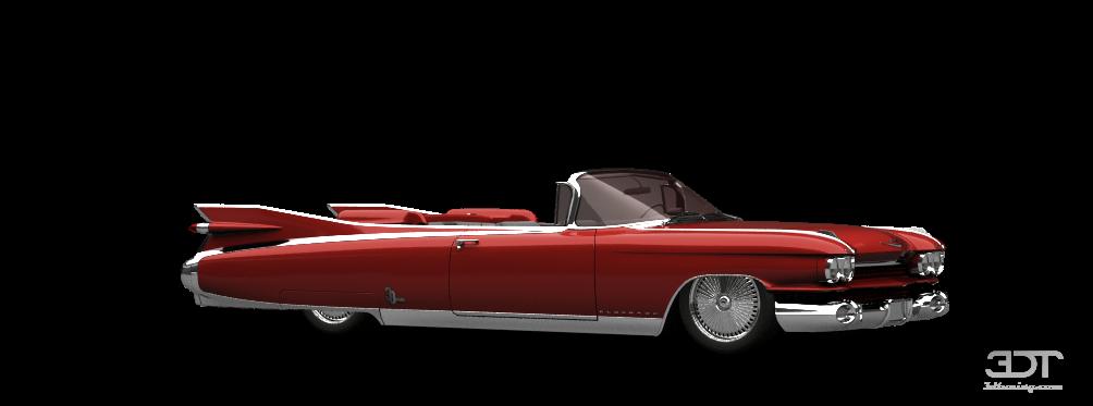 Online Car Parts >> Tuning Cadillac Eldorado Convertible sedan 1959 online ...
