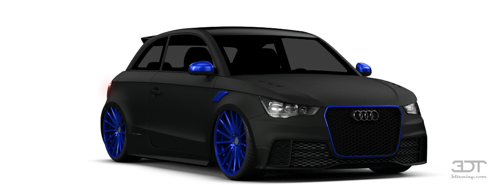 3dtuning Of Audi A1 3 Door Hatchback 2011 3dtuning Com