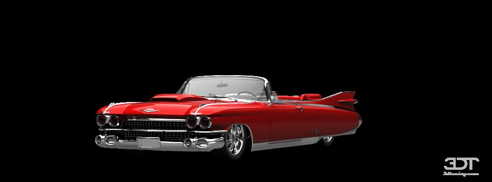 Tuning Cadillac Eldorado Convertible Sedan 1959 Online