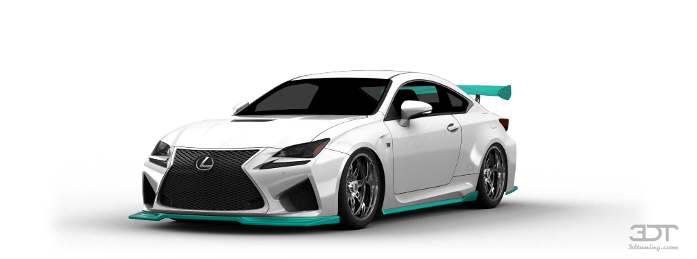 Lexus RC-F Coupe 2015 tuning