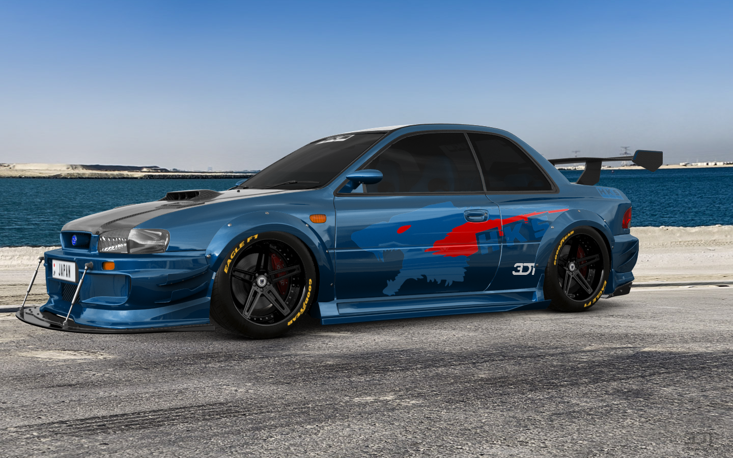 My Perfect Subaru Impreza Wrx Sti 22b