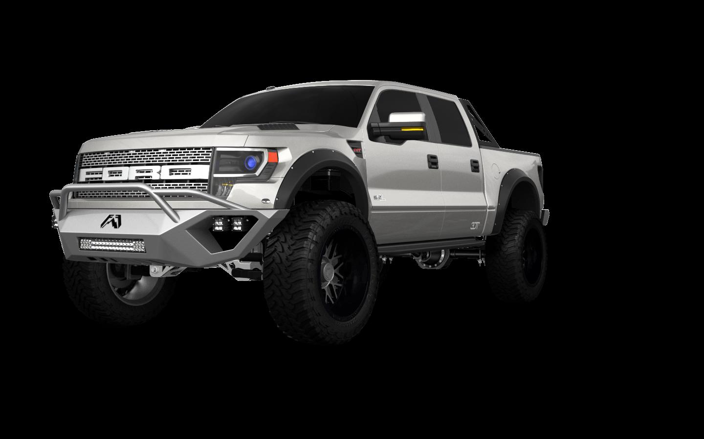 Ford F-150 SVT Raptor 4 Door pickup truck 2013 tuning