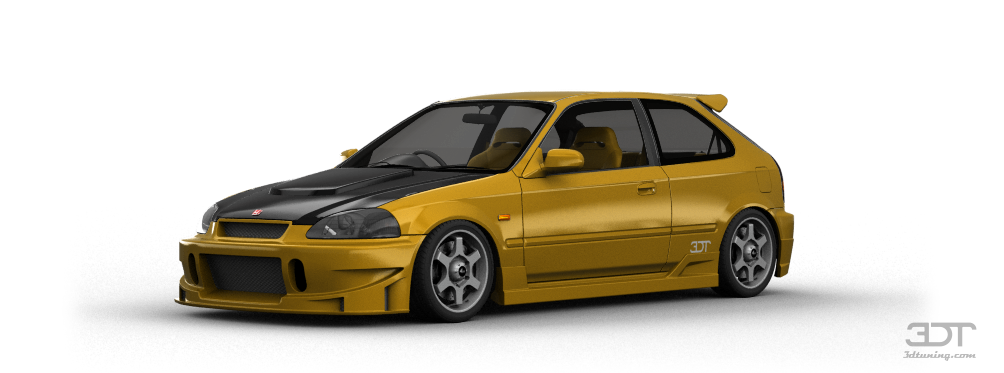 Honda Civic Type-R 3 Door 1997 tuning