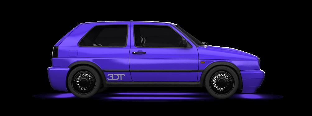 Volkswagen Golf 2 Gti 3 Door Hatchback 1990 tuning