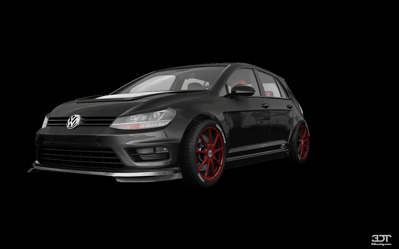 Volkswagen Golf 7 5 Door Hatchback 2013 tuning