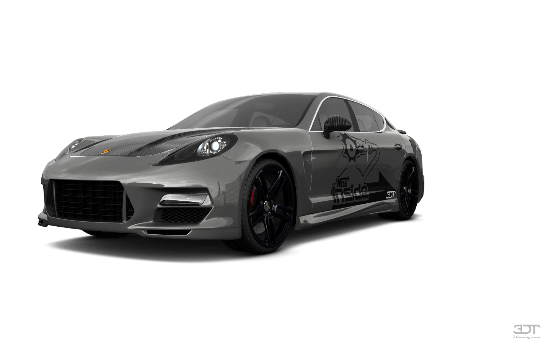 Porsche Panamera 4 door fastback saloon 2011 tuning
