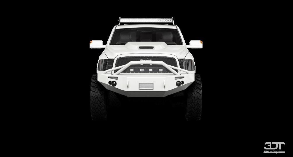 Dodge RAM 3500 Mega Cab DRW'14