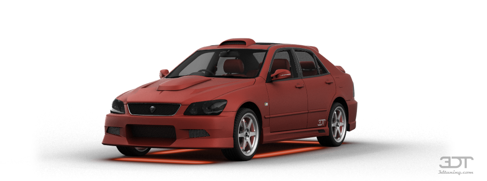 3dtuning Of Toyota Altezza Rs200 Sedan 2004 3dtuning Com