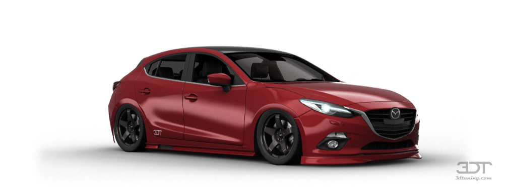 Mazda 3 2017 Custom >> 3DTuning of Mazda 3 5 Door Hatchback 2014 3DTuning.com - unique on-line car configurator for ...