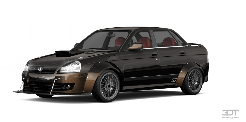 Lada Priora 2170 Sedan 2012 tuning
