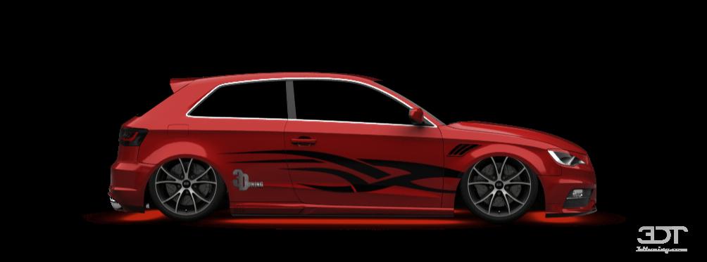 3dtuning Of Audi A3 3 Door Hatchback 2013 3dtuning Com