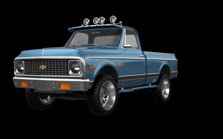 Chevrolet C-10 Cheyenne 2 Door pickup truck 1972 tuning