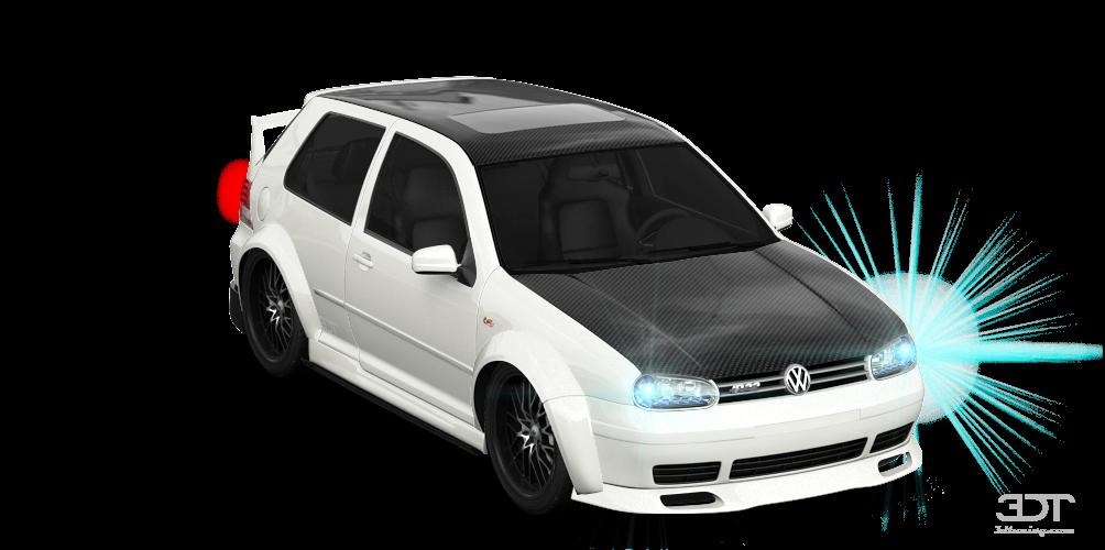 Volkswagen Golf 4 (mk4) 3 Door Hatchback 2004 tuning