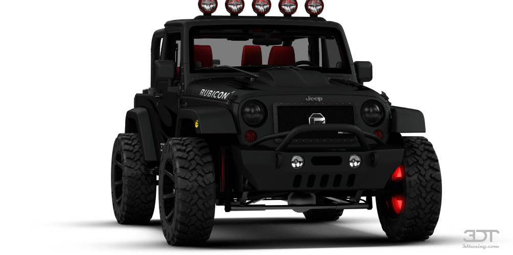 3DTuning of Jeep Wrangler Rubicon Convertible 2013 3DTuning.com - unique on-line car ...