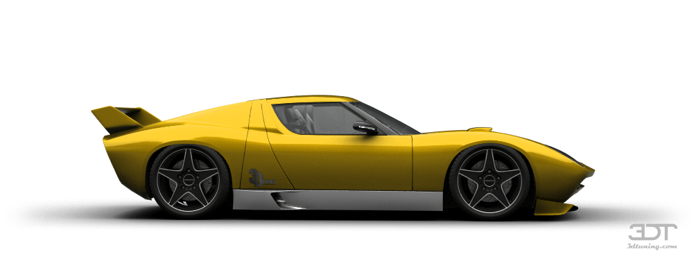 My perfect Lamborghini Miura Concept. 3DTuning - probably the best ...