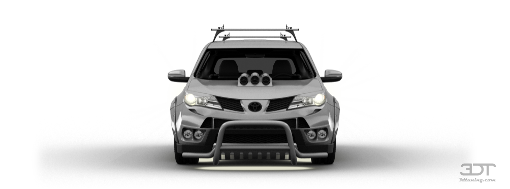 Tuning Toyota RAV4 2013 online, accessories and spare parts for tuning Toyota RAV4 2013