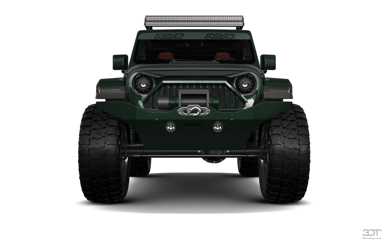 Jeep Wrangler Rubicon (JL) 4 Door SUV 2018