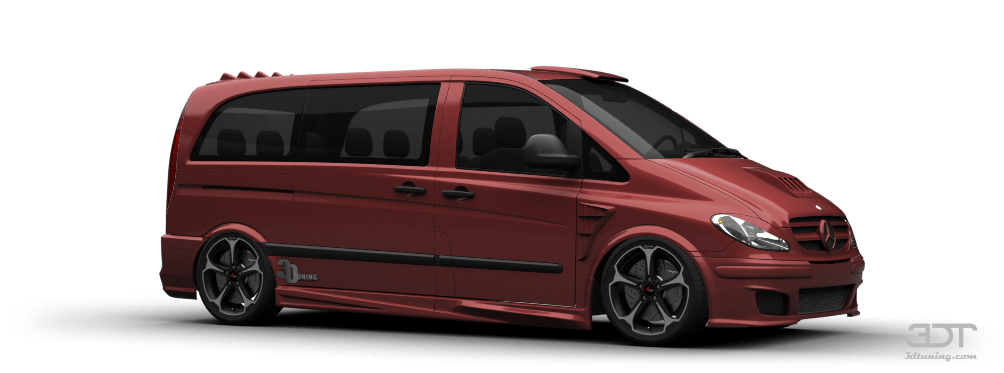 3DTuning of Mercedes Vito Van 2003 3DTuning.com - unique ...