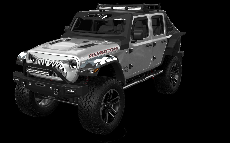 Jeep Wrangler Rubicon JL'17