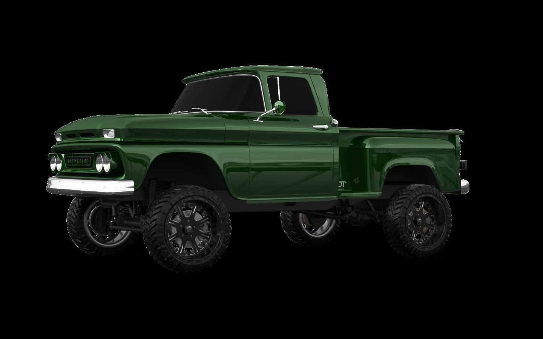 Chevrolet C-10 Stepside 2 Door pickup truck 1963 tuning