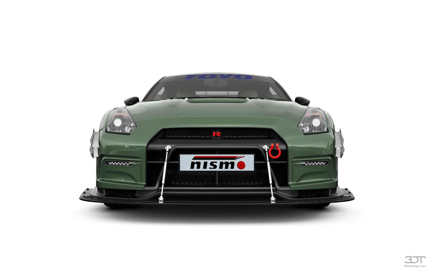 Nissan GT-R'10 by King Kong