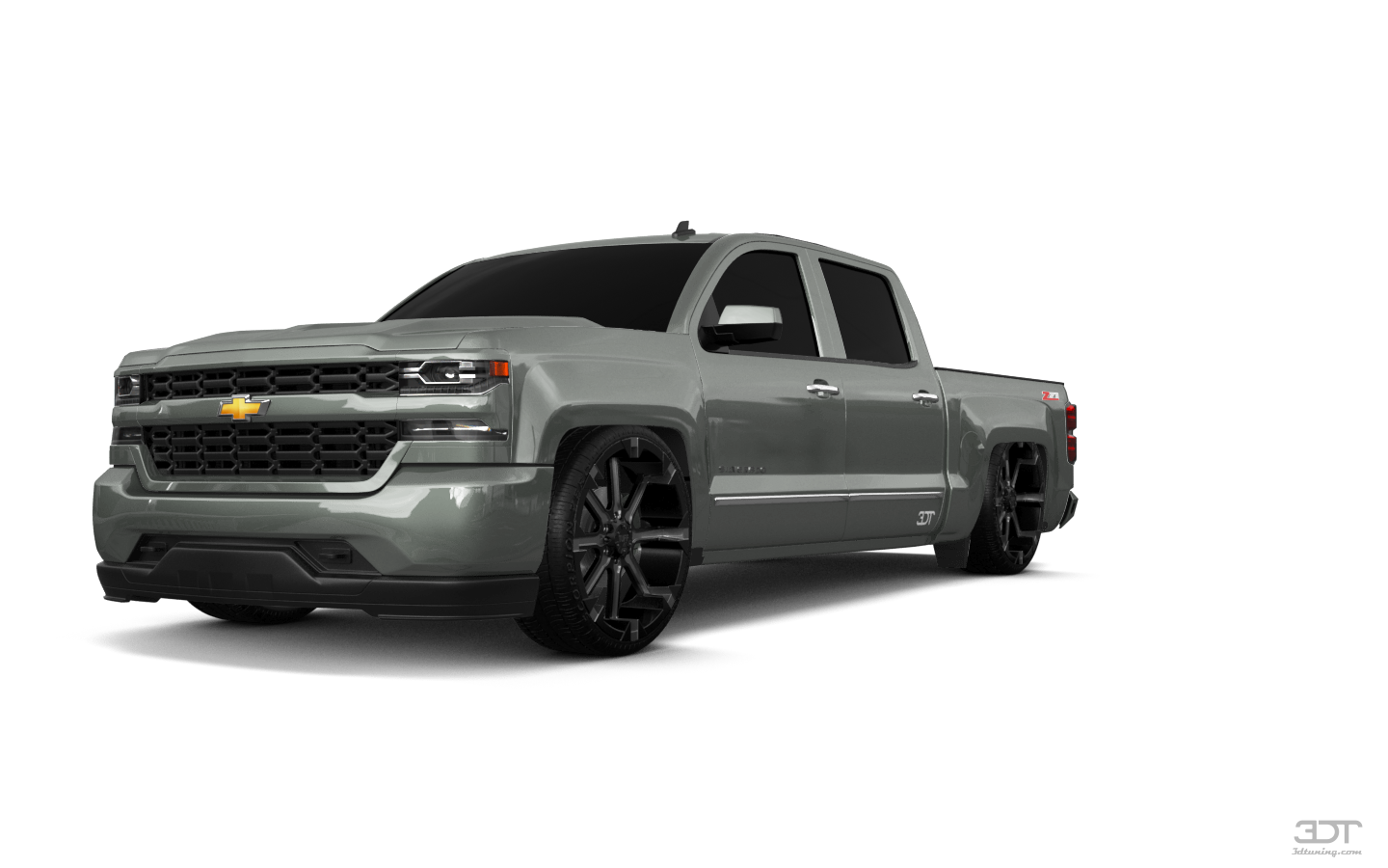 Chevrolet Silverado 1500 4 Door pickup truck 2016 tuning