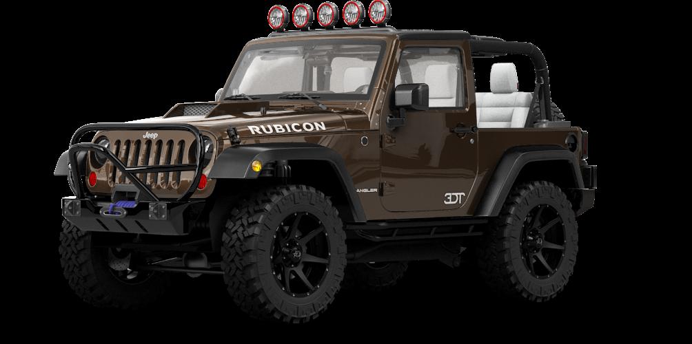 Jeep Wrangler Rubicon Convertible 2113 tuning