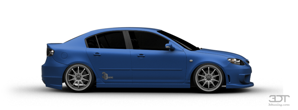 3DTuning of Mazda 3 Sedan 2004 3DTuning.com - unique on-line car configurator for more than 600 ...