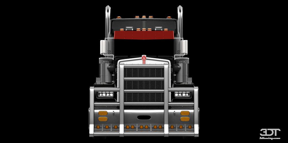 Kenworth W900 Sleeper Cab Truck 2014