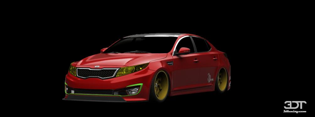 Kia Hybrid Car >> 3DTuning of Kia Optima Sedan 2011 3DTuning.com - unique on ...