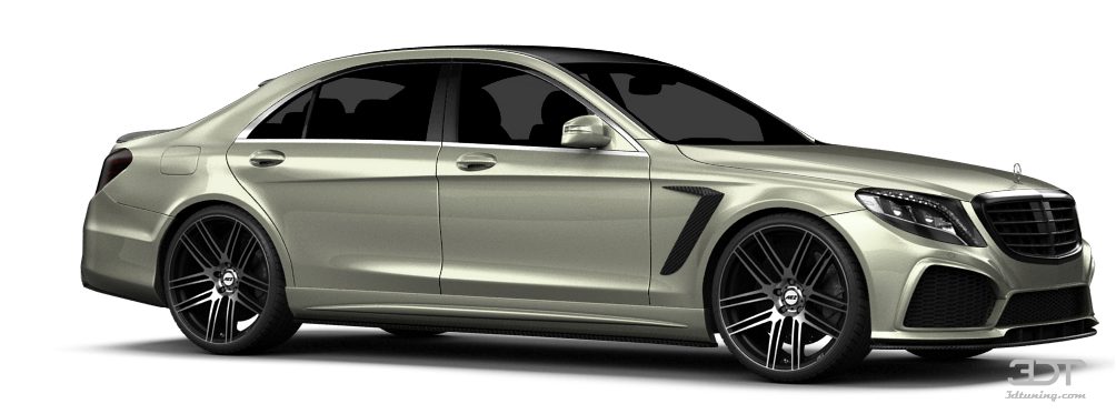 Mercedes S class sedan 2014 tuning