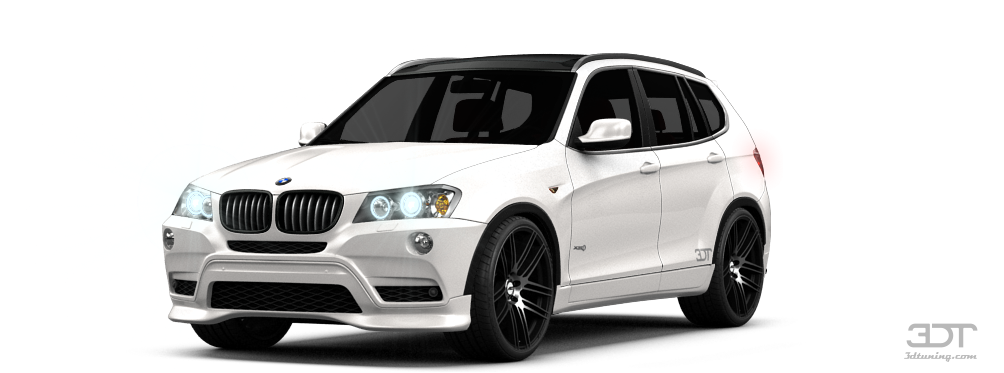 3dtuning Of Bmw X3 Crossover 2012 3dtuning Com Unique On
