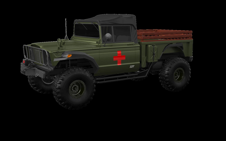 Jeep Kaiser M715 2 Door pickup truck 1968 tuning