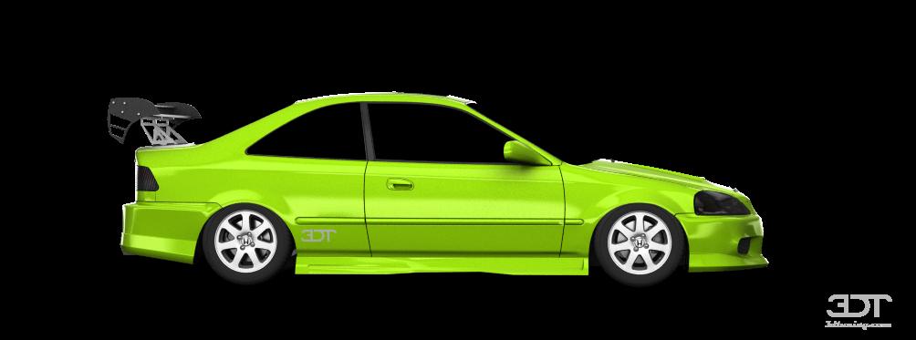 My perfect Honda Civic Si.