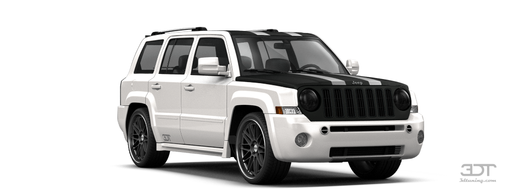 Jeep Cherokee White And Black >> My perfect Jeep Patriot.