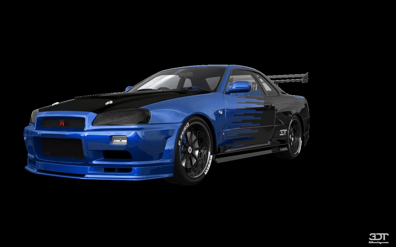 Nissan Skyline GT-R 2 Door Coupe 2000 tuning