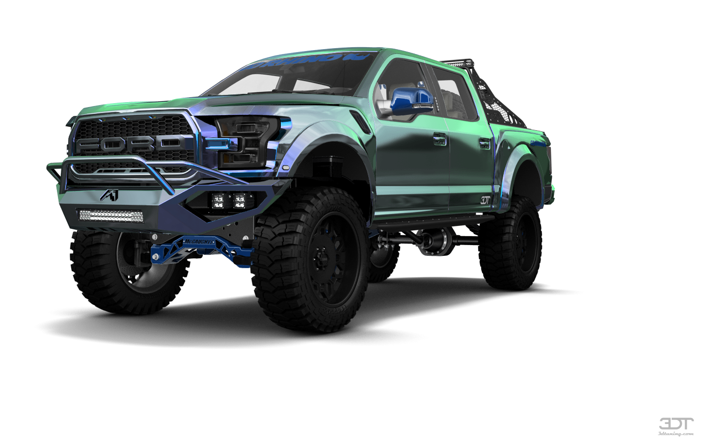 Ford F-150 Raptor 4 Door pickup truck 2017 tuning
