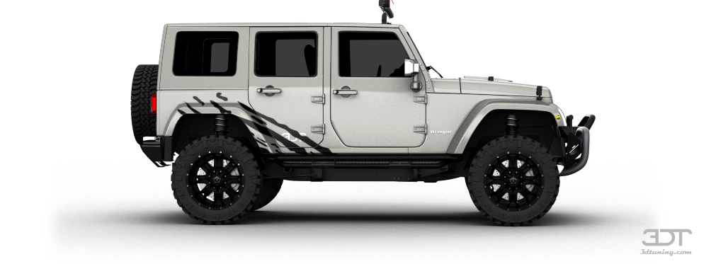 3dtuning Of Jeep Wrangler Unlimited Suv 2008 3dtuning Com
