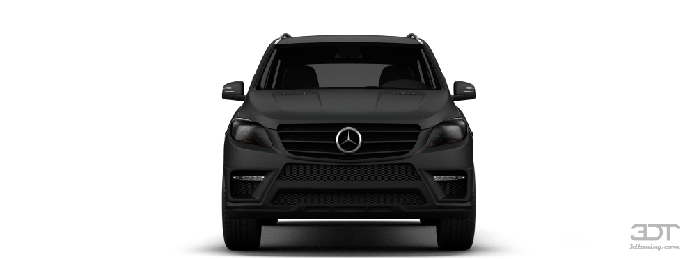Mercedes ML class SUV 2011