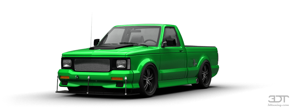 3dtuning Of Gmc Syclone Pickup 1991 3dtuning Com Unique