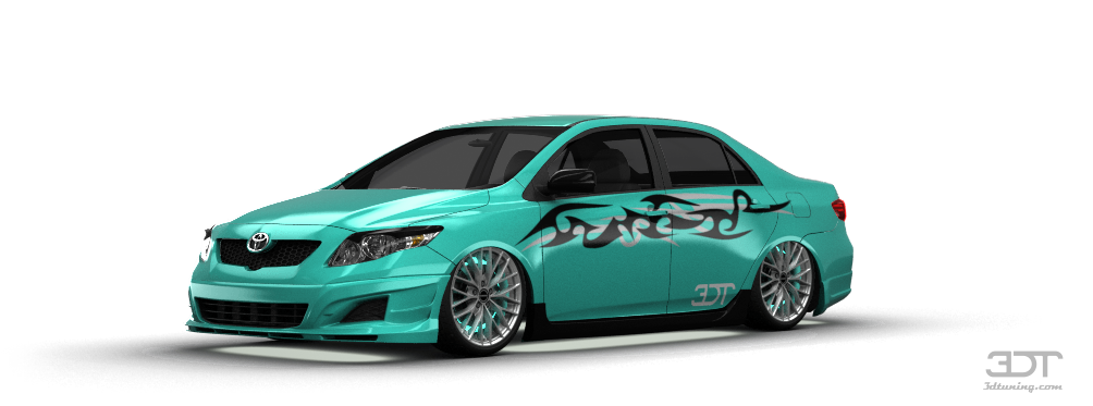 Toyota Corolla Sedan 2007 tuning