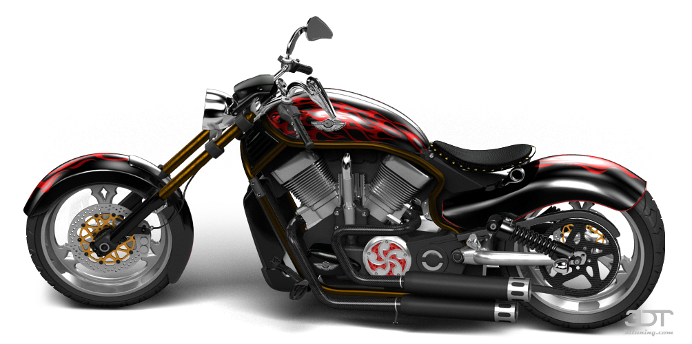 My Perfect Harley Davidson Custom Chopper