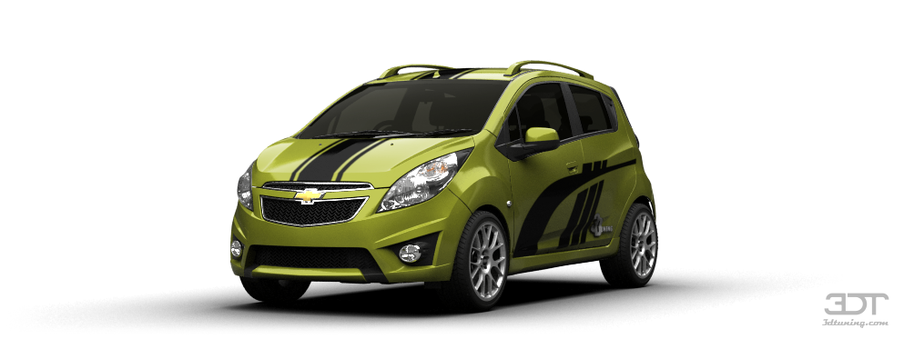 3DTuning of Chevrolet Spark 5 Door Hatchback 2011 3DTuning.com - unique on-line car configurator ...