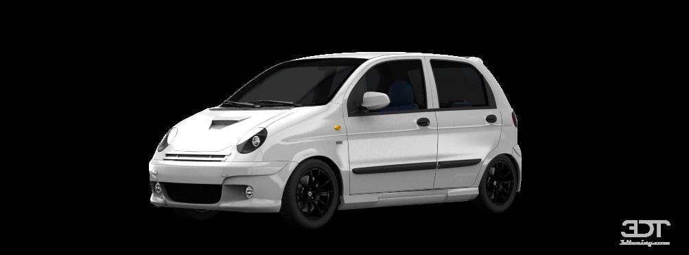 Daewoo Matiz M 150 5 Door Hatchback 2000 tuning