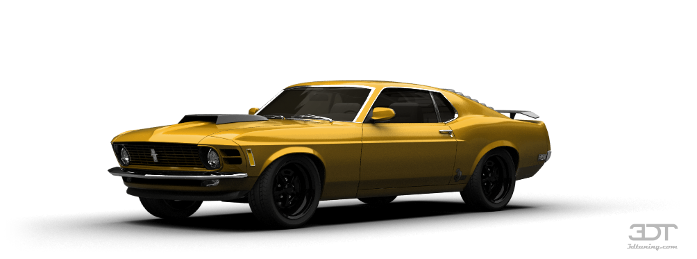 Mustang Boss 429 Coupe 1969 tuning