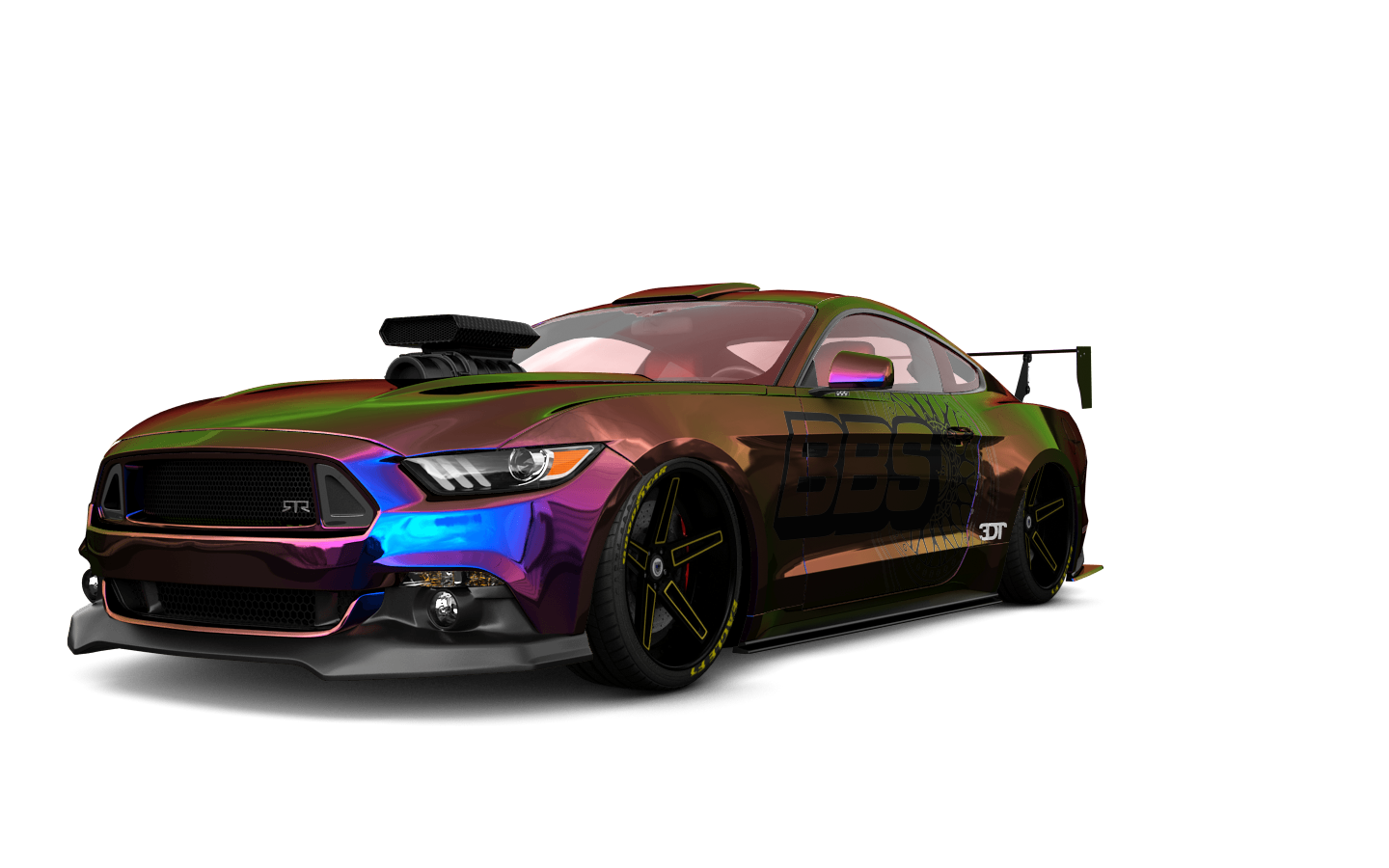 Ford Mustang GT 2 Door Coupe 2015 tuning