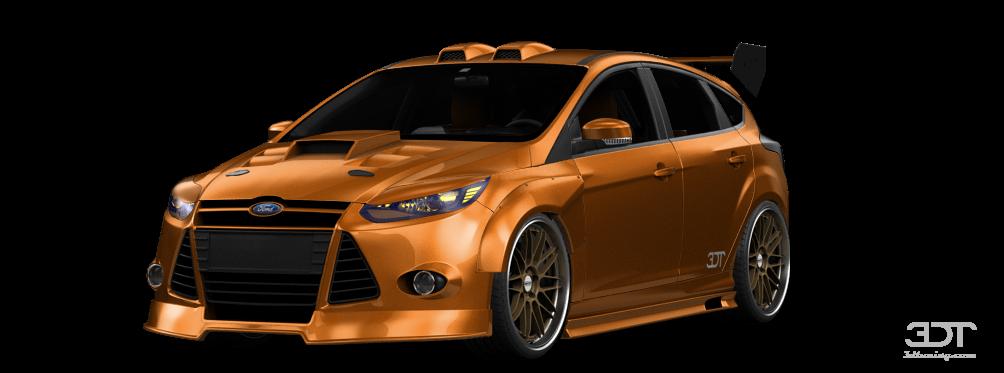 3dtuning of ford focus 5 door hatchback 2012 3dtuningcom